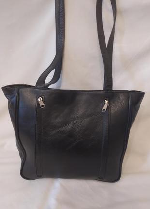 Мега удобная сумочка натуральная кожа
