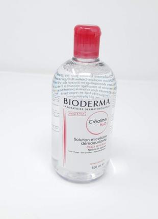 Bioderma биодерма crealine н2о мицеллярный лосьон 500 мл (сансибио h2o)