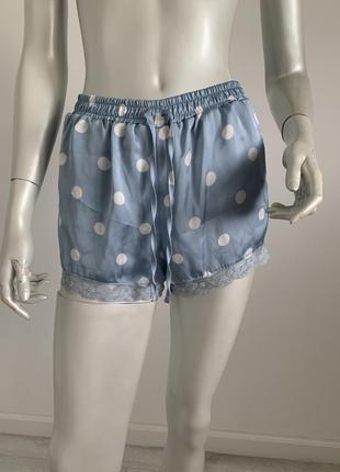 Пижама шорти атлас