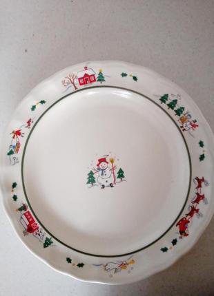 Блюдо тарелка большая