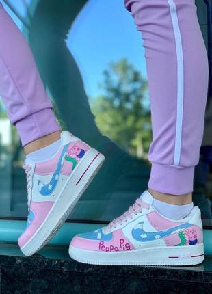 Nike air force pepa pig кроссовки найк форсы наложенный платёж купить