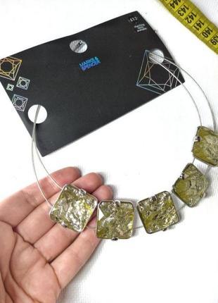 Идеальное ожерелье с камнями от m&s