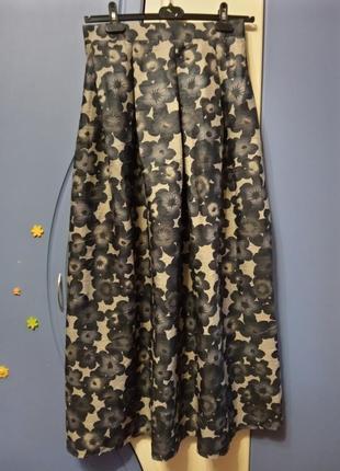 Новая, красивая макси юбка смс, р. м