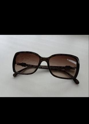 Аутентичные женские винтажные солнцезащитные очки chanel италия оригинал винтаж