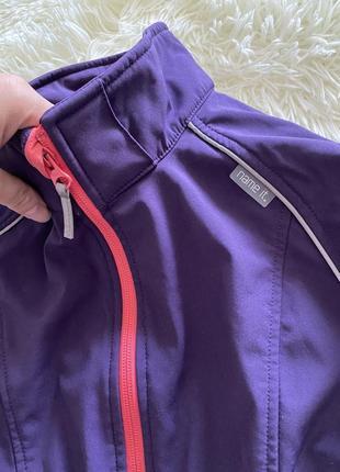 Ветровка куртка дождевик на флисе 💜💜💜2 фото