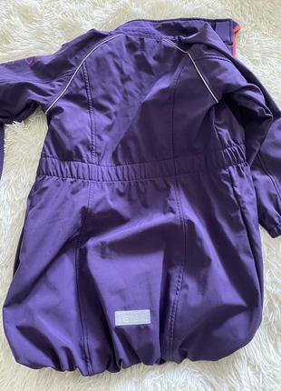 Ветровка куртка дождевик на флисе 💜💜💜4 фото