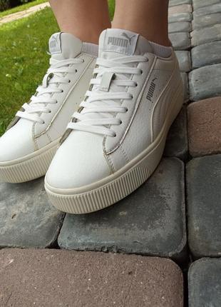 Кроссовки puma vikky stacked white, оригинал!