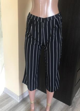 Літні штани кюлоти shein
