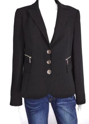 Базовый классика черный жакет пиджак от gerry weber