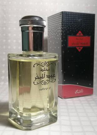 Rasasi mukhallat oudh al mubakhar парфюмированная вода унисекс 100мл