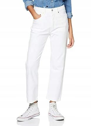 Винтажные белые джинсы levis 501