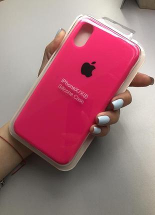 Чехол silicone case для iphone x/xs чехол для айфон 10