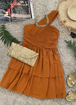 Распродажа!!! невероятное яркое коктейльное платье №550