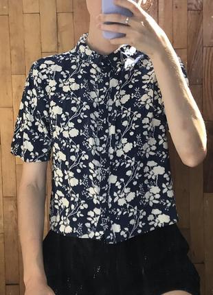 Рубашка укороченная (гавайская)