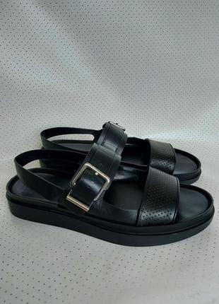 Шикарные кожаные босоножки, сандали, оригинал