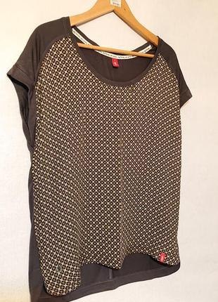 Женская блуза edc, l-xl 48-50-52 футболка, блузка edc2 фото