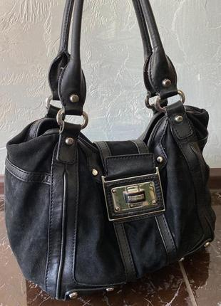 Кожаная сумка, karen millen