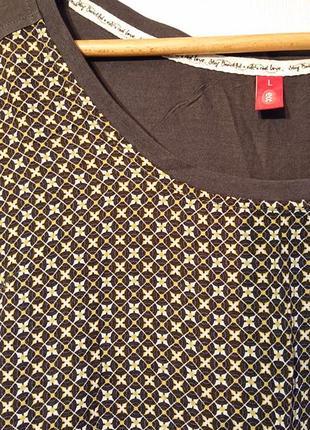 Женская блуза edc, l-xl 48-50-52 футболка, блузка edc3 фото