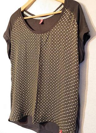 Женская блуза edc, l-xl 48-50-52 футболка, блузка edc4 фото