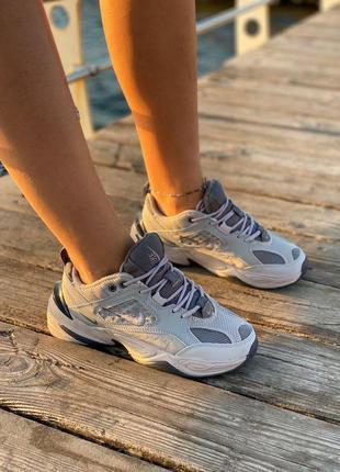 🔥🔥🔥 женские/мужские кроссовки nike m2k tekno grey