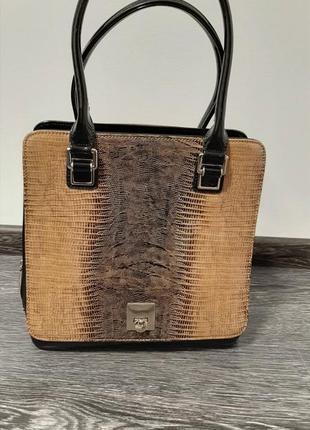 🖤лімітована жіноча сумка із лакованої шкіри🤎