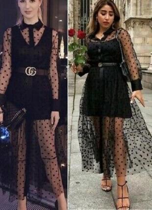 Zara платье накидка кардиган туника zara на пуговицах платье рубашка платье сетка в горошек6 фото