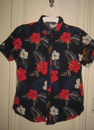 Рубашка 8-9 лет.рост 134см