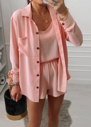 Костюм офисный деловой женский пиджак брюки штаны кофта2 фото