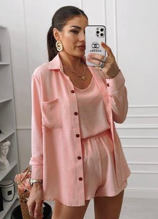 Костюм офисный деловой женский пиджак брюки штаны кофта1 фото