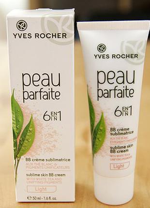 Bb cream совершенная кожа yves rocher peau parfaite 6 in 1 bb крем