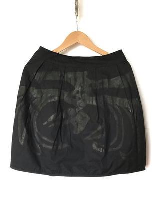 Авангардная двухсторонняя юбка rundholz black label annette görtz rick owens