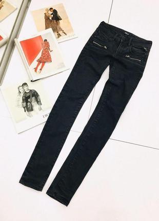 Крутые люксовые оригинальные байкерские джинсы с пропиткой и молниями replay 1+1=3 на всё 🎁4 фото