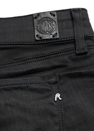 Крутые люксовые оригинальные байкерские джинсы с пропиткой и молниями replay 1+1=3 на всё 🎁7 фото