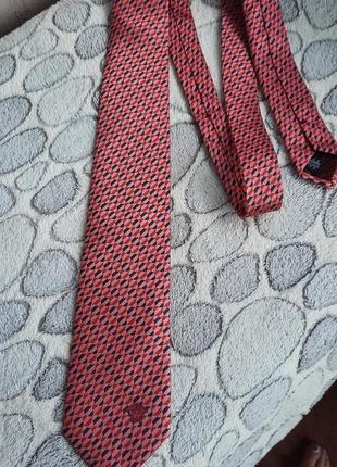 Шёлковый галстук versace