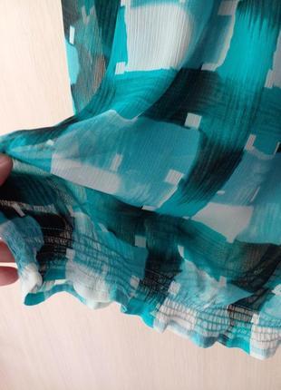 Блуза  esprit шифон очень приятная и легкая размер eu16 наш 524 фото