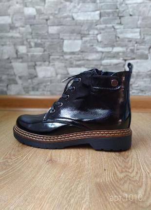Лаковые ботинки деми