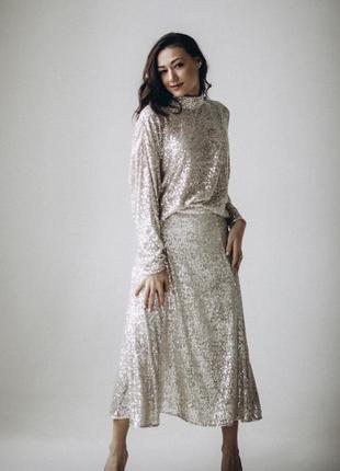 Блузка и юбка комплект hm