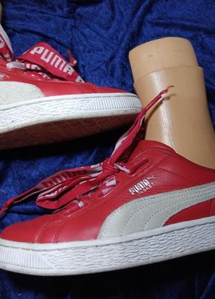 Кроссовки puma (кожа)