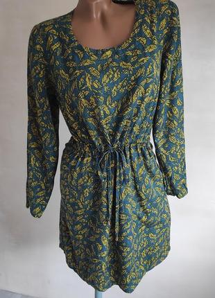 Платье из натуральной дышащей ткани