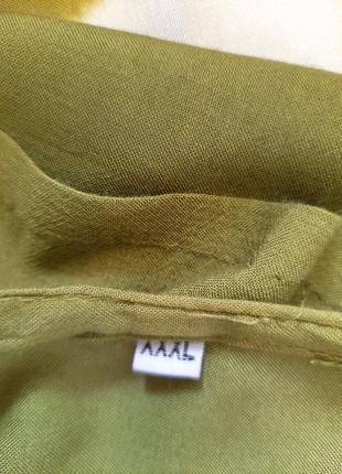Комфортное с вышивкой платье 👗большого размера3 фото