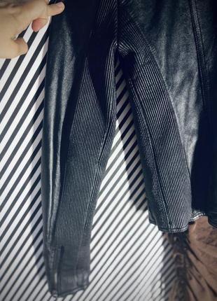 Кожаная куртка косуха натуральная кожа7 фото