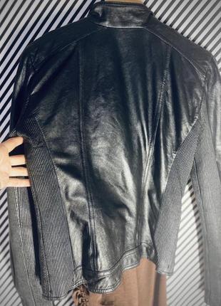 Кожаная куртка косуха натуральная кожа9 фото