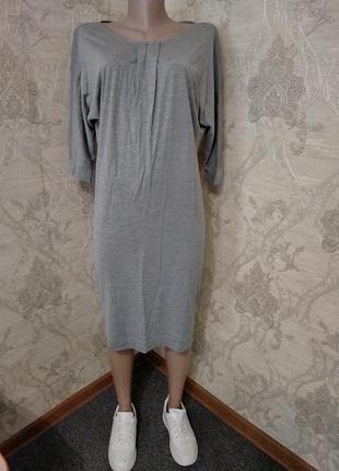 Легкое платье миди макс мара