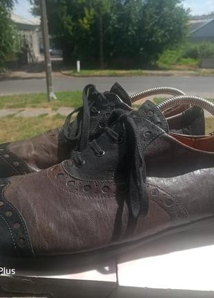 Обалденные кожаные туфли think! 45-46