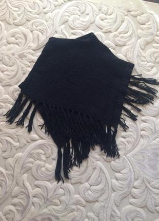 Шикарное элегантное пончо-шарф( италия)