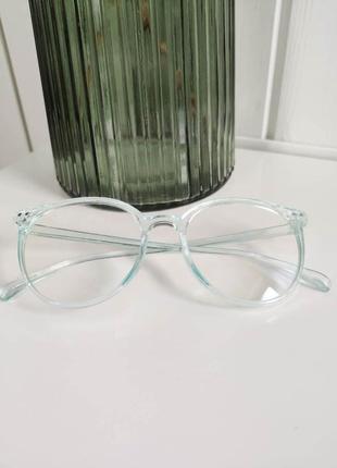 Стильные имейджевые очки с антибликовым покрытием