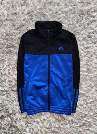 Спортивная кофта, мастерка adidas, оригинал, 7-8 лет