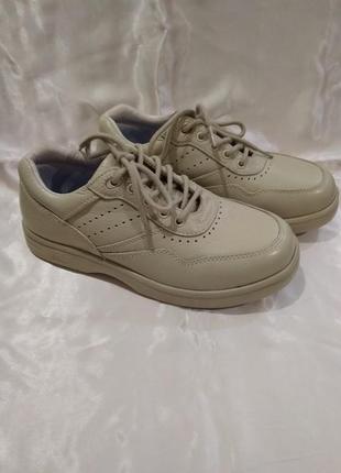 Кожаные туфли dr.comfort на широкую ногу