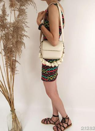 Кремова сумочка клатч, женская сумочка клатч кремовая
