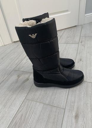 Ботинки сапоги чоботи зимнее